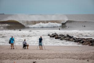 Hurricane Hermine Long Beach Ny  By Honovic